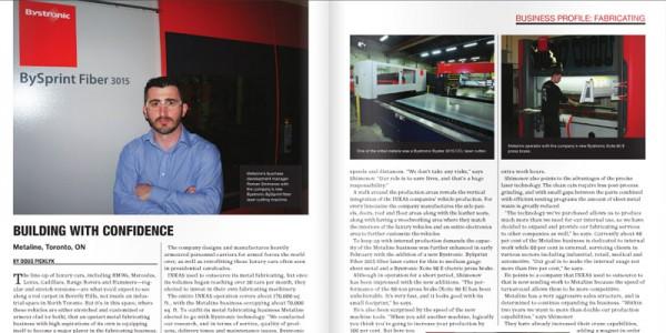 Metaline Magazine CWB